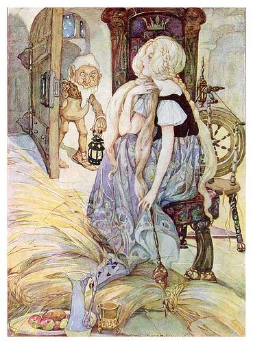 002- Cuentos de Grimms- El oro de la paja- Anne Anderson