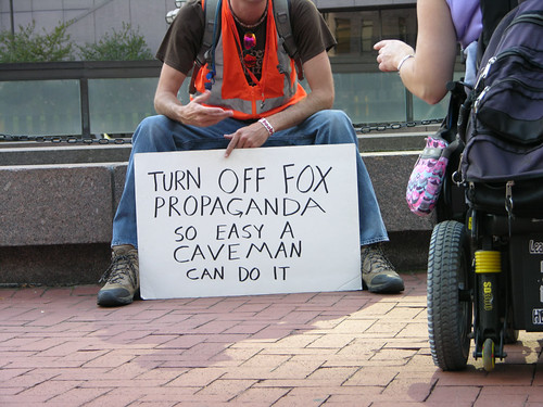 turn off Fox propaganda