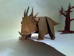 Styracosaurus (Sunny Marmalade) Tags: styracosaurus kawahata fumiaki