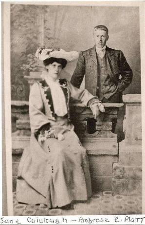 Jane Colclough and Ambrose Platt