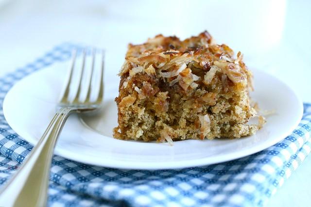 Oatmeal Snack Cake