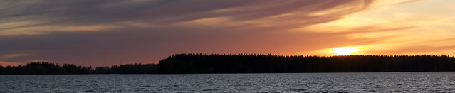 Sunset in Sastamala