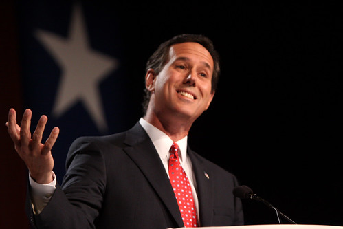 Santorum Claims Meaningless Victories That Slow His Inevitable Defeat