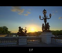 Pont Alexandre III - Paris (J P | Photography) Tags: life sunset wallpaper paris apple photoshop french photography mac aperture raw imac angle photos ange iii ps jp pont alexandre hdr parisian hdri tourisme francais touristique photographe alexandreiii parisien photomatix jpphotography