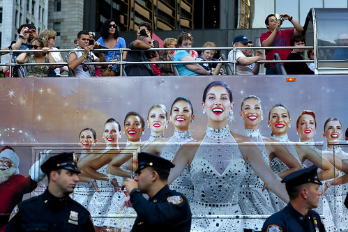 Occupy Wall Street: Rockettes