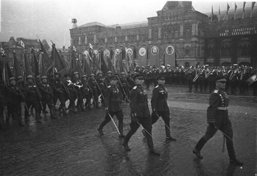 Desfile de la Victoria en Moscú 1945