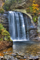 Looking Glass Falls - HDR 1