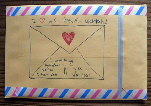 I ♥ U.S. Postal Workers!