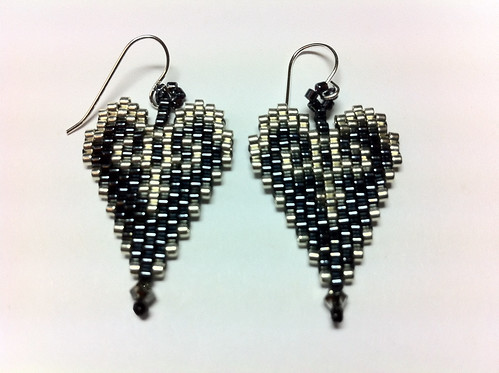 Heart Evening Earrings OTTBS Earring Swap