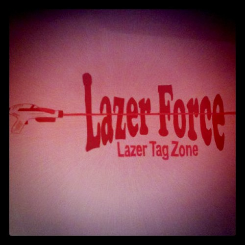 Played lazer tag last night. Favorite part? The fact that my codename was 'bacon' :)