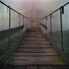 [フリー画像素材] 建築物・町並み, 橋, 霧・霞, 風景 - ロシア ID:201111020400