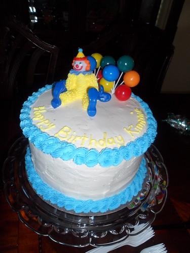 Kimberly's 8th birthday cake
