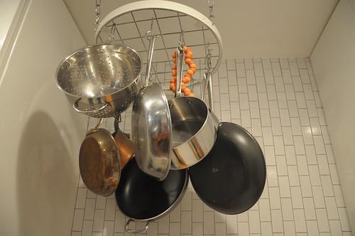 kitchen after -- pot rack