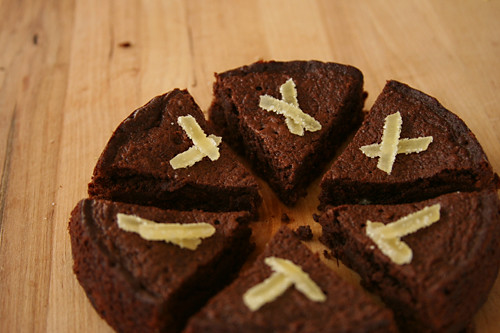 ginger brownies 6