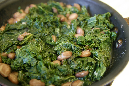 beans and greens