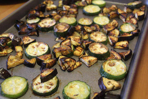 Roasted Eggplant and Zucchini