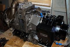 jet engine rover generator restoration vulcan turbine rotax alternator vulcanbomber aapp morrismotors 1s60 aappmk10301