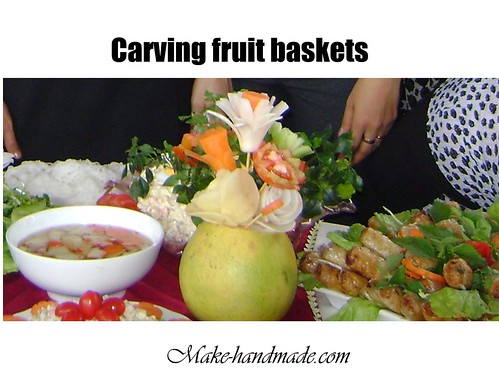 carving fruit baskets