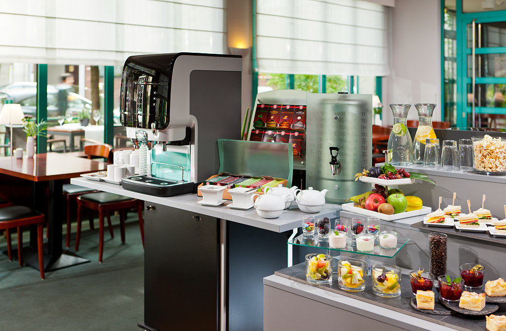 Kaffeepause im Mercure Hotel Düsseldorf Hafen