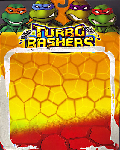 TEENAGE MUTANT NINJA TURTLES  'TURBO BASHERS'  ::  ZANRAMON ..card backer i (( 2004 ))