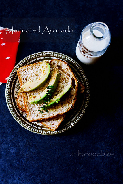 Marinated Avocado