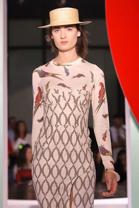 Kenzo - Birds, bird prints, fashion trends