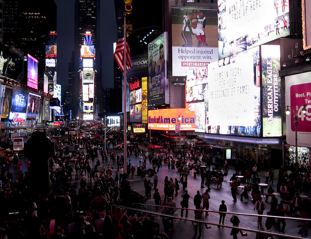 """Times Square • <a style=""""font-size:0.8em;"""" href=""""http://www.flickr.com/photos/32810496@N04/6272180014/"""" target=""""_blank"""">View on Flickr</a>"""