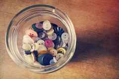 The Button Jar II (Child of Danu) Tags: cute texture buttons crafts jar colourful textured koumpounophobia