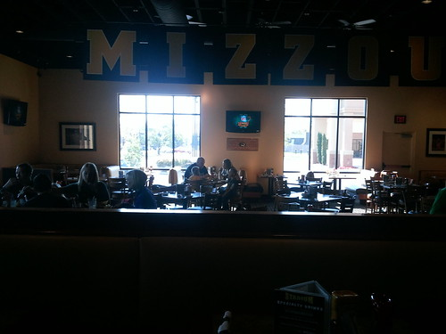11:40 a.m. at Stadium Bar and Grill