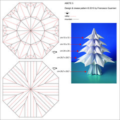 Abete 3 - Fir tree 3 (Crease Pattern) (f.guarnieri) Tags: christmas xmas sculpture plants holiday tree art nature natal pinetree paper paperart weihnachten star navidad 3d origami arte geometry estrela natura noel christmastree symmetry ornaments modular estrellas rbol papel cp nol weihnachtsbaum albero stern pino abete natale papier arbre rvore decorao estrella paperfolding papiroflexia baum homedecor carta octagon dcoration sapin firtree unit papercrafts tanne dcor toile alberodinatale geometria ornement pinheiro dekoration abeto decoracin creasepattern dobradura  arbredenol  ornamentos sapindenol rvoredenatal pliage rboldenavidad papierfalten fguarnieri