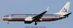 American Airlines Boeing 737-823 N991AN (Winglet Photography) Tags: plane canon airplane flying airport aircraft aviation flight jet airshow airline boeing airlines americanairlines aa airliner veterans 737 2010 stockphoto aal oldglory jetliner 737800 738 737823 canon50d honorflight eaaairventure n991an wingletphotography georgewidener georgerwidener
