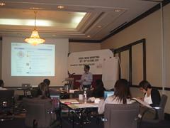 Snapshot of Social Media Marketing Workshop (Oct 18 - 19, 2011 | Malaysia) (digitalvidya) Tags: sso facebook linkedin socialmedia twitter socialmediaworkshop socialmediamarketing smmtraining socialmediacourse socialmediastartegy