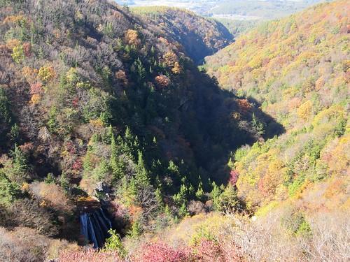 横谷渓谷と王滝の紅葉 2011年10月26日10:05 by Poran111