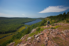 Lake of The Clouds (Chris Arace) Tags: life statepark travel up hiking michigan lifestyle editorial portfolio upperpeninsula lakesuperior porcupinemountains lakeoftheclouds escarpmenttrail puremichigan