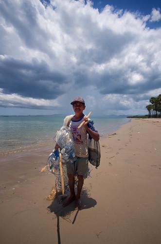 Lasiana Beach Kupang - Fisherman