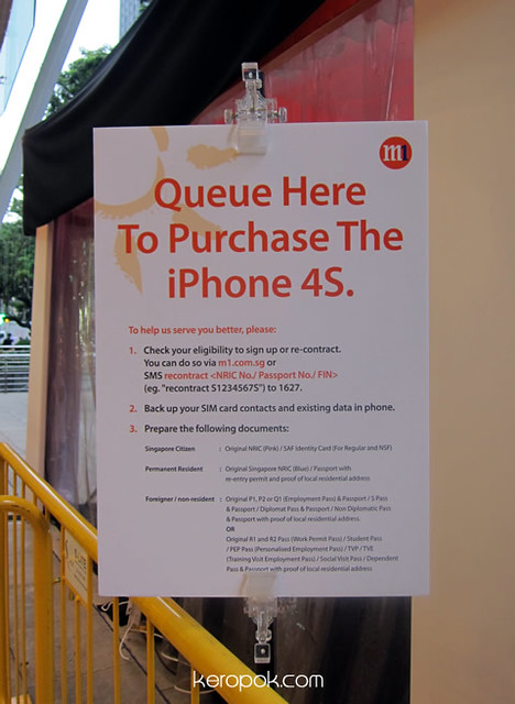 iPhone4S queue