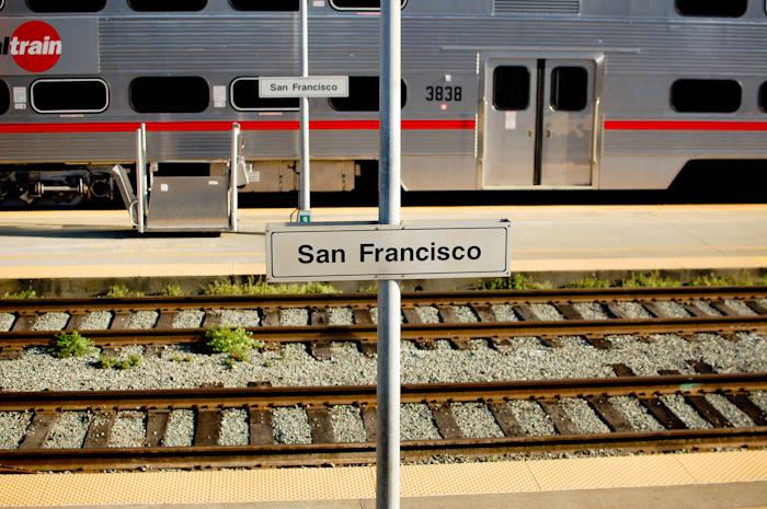 @ Caltrain SF