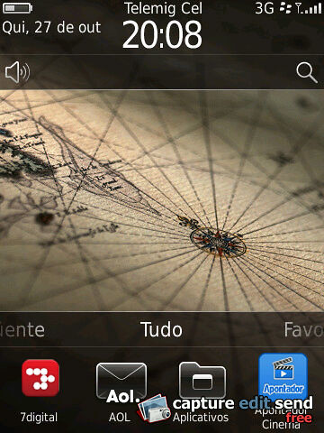 BlackBerry OS 6.0 - Tela Inicial by Rogsil
