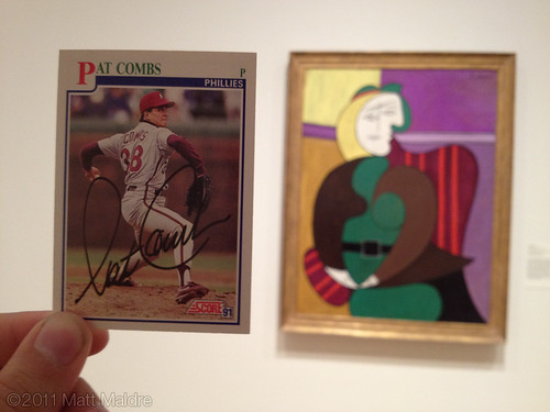 1991 Pat Combs and 1931 Pablo Picasso