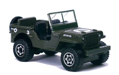 Matchbox Jeep