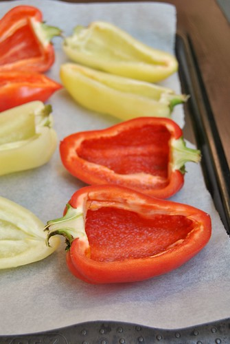 Roasted Stuffed Peppers by J. Oliver