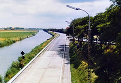 The Dunkirk-Nieuport Canal at Adinkerke