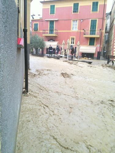 Alluvione a Monterosso al Mare del 25/10/2011