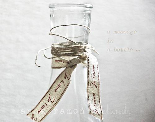 un mensaje en una botella