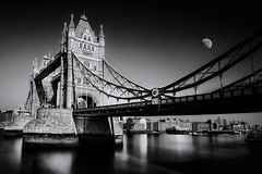 The Old Bridge (published on national geographic) (MOSTAFA HAMAD | PHOTOGRAPHY) Tags: pictures travel sky blackandwhite bw italy black tree london art love nature beauty photoshop towerbridge canon
