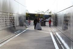 Bride and Groom (ktmqi) Tags: newjersey memorial jerseycity 911 libertystatepark 911memorial hudsoncounty