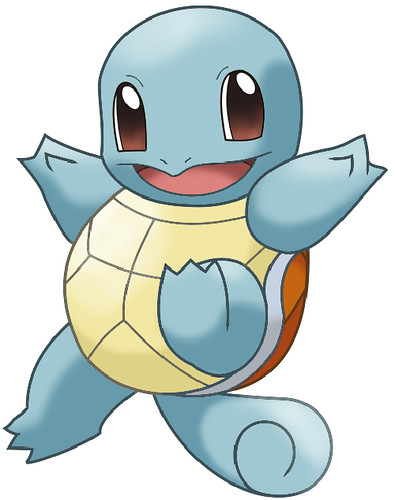 Pokémon de Agua, Squirtle