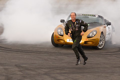 TVR can't stop doing donuts! (iJacks) Tags: canon eos 7d stunt tvr santapod sigma70300 nodriver terrygrant flameandthunder