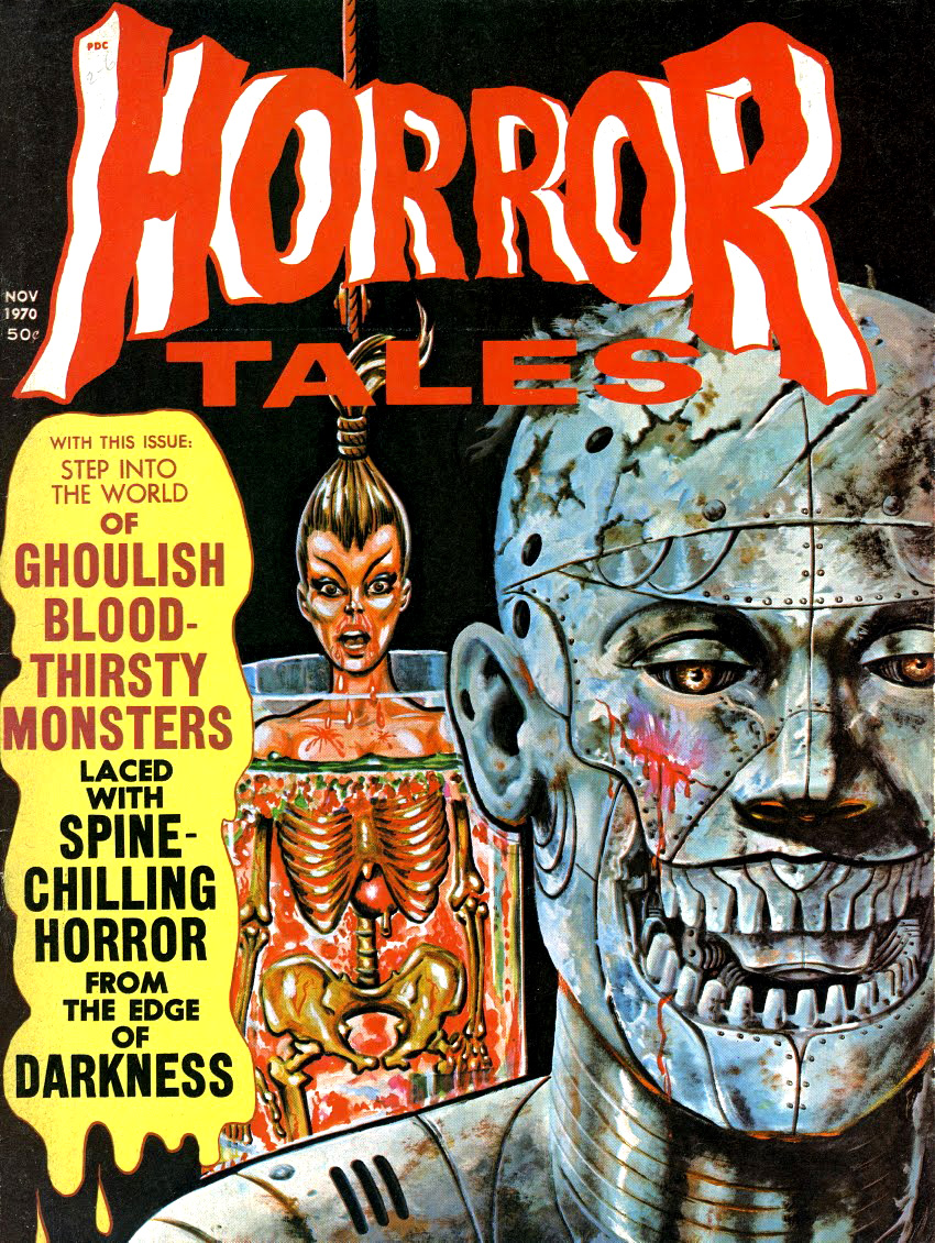 Horror Tales - Vol.2 #6 (Eerie Publications, 1970)