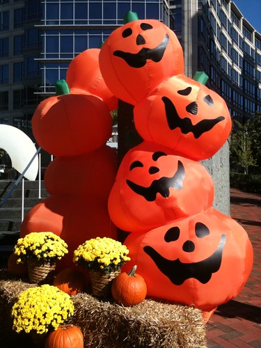 Big Boo...at the entrance to Chevy Chase Center at Wisconsin Avenue and Wisconsin Circle